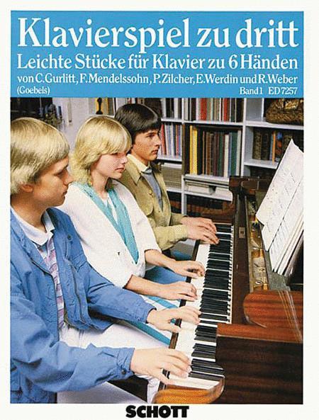 Klavierspiel zu dritt Band 1