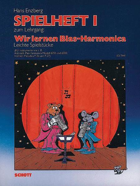 Wir lernen Blas-Harmonica Spielheft 1