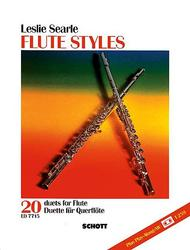Flute Styles 2 Flutes