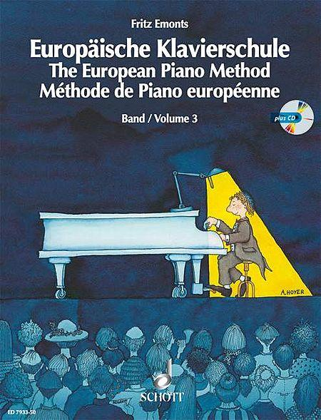The European Piano Method w/CD - Volume 3