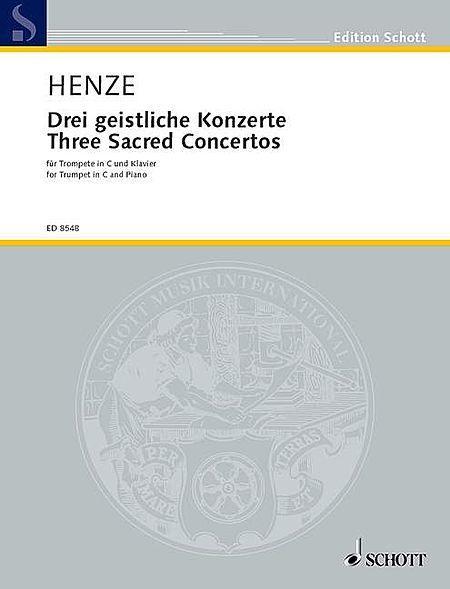 Three Sacred Concertos