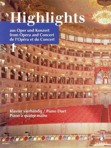 Highlights from Opera and Concert Band 1