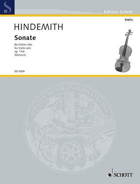 Violin Sonata op. 11/6