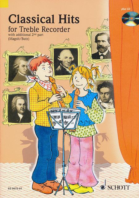 Classical Hits for Treble Recorder