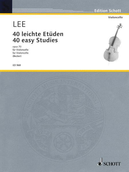 40 Easy Studies op. 70