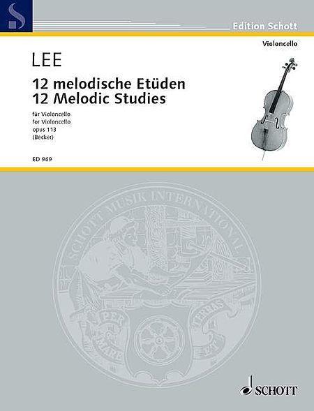 12 Melodic Studies, Op. 113