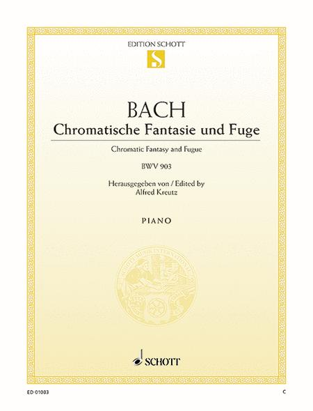 Chromatic fantasy and fugue BWV 903