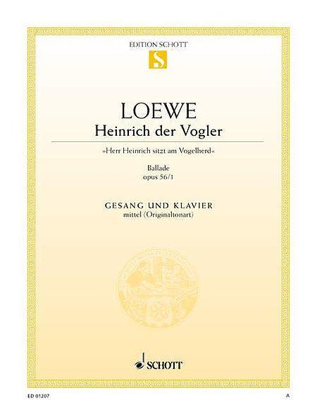 Heinrich der Vogler op. 56/1
