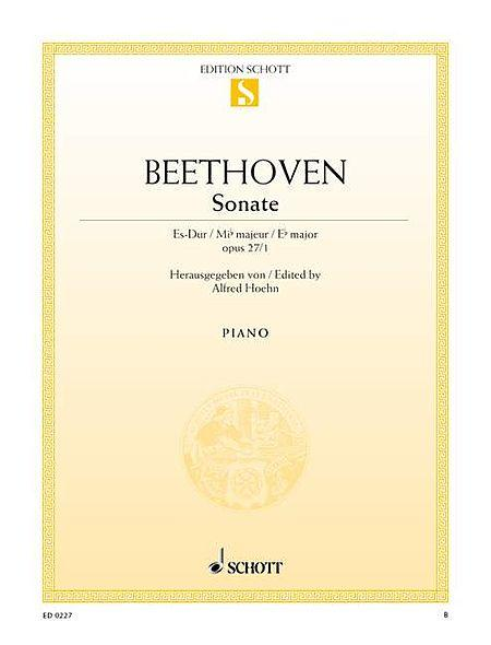Sonata E-flat major op. 27/1