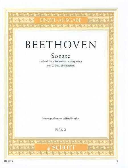 Sonata C sharp Minor op. 27/2