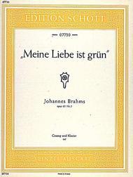 Meine Liebe ist Grun, Op. 63, No. 5