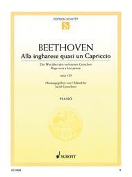 Alla ingharese quasi un Capriccio op. 129