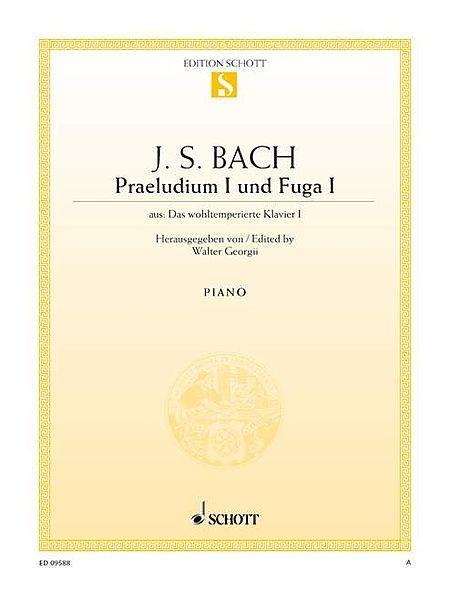 Prelude I and Fugue I C major BWV 846