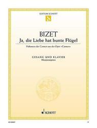 Ja, die Liebe hat bunte Flugel (from Carmen)