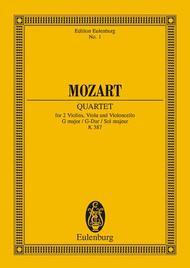 String Quartet G major KV 387
