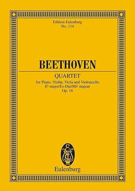 Piano Quartet in E flat Major, Op. 16
