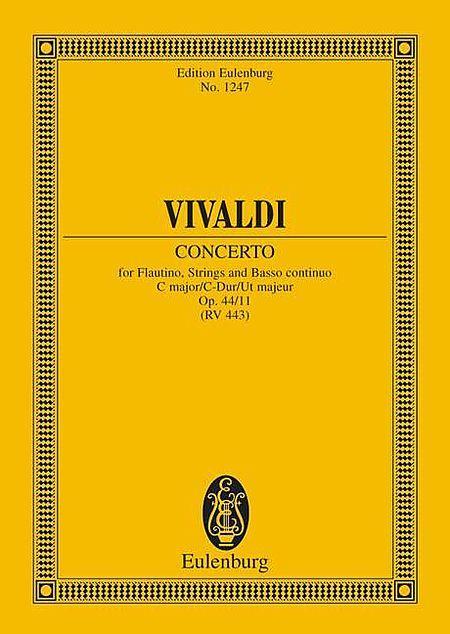 Concerto C major op. 44/11 RV 443 / PV 79