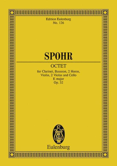 Octet E major op. 32