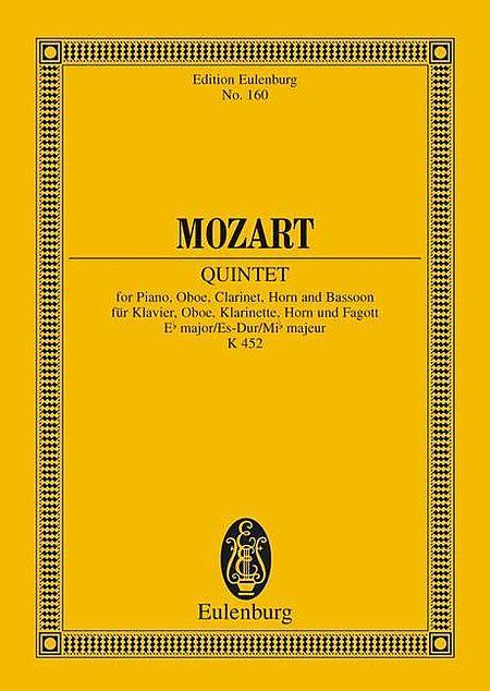 Quintet Eb major KV 452