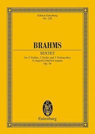String Sextet G major op. 36