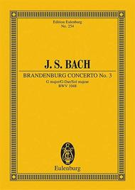 Brandenburg Concerto No. 3 G major BWV 1048