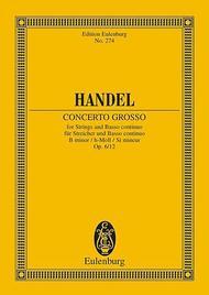 Concerto grosso B minor op. 6/12 HWV 330