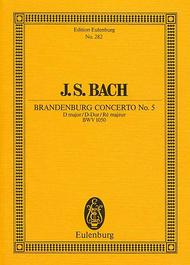 Brandenburg Concerto No. 5 D major BWV 1050