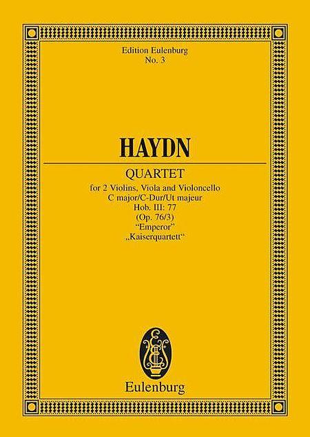 String Quartet in C major, Emperor op. 76/3 Hob. III: 77