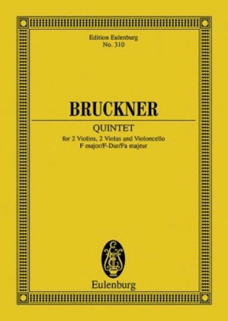 String Quintet F major