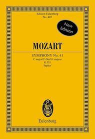 Symphony No. 41 C major KV 551