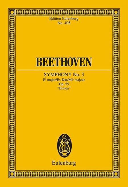 Symphony No. 3 Eb major op. 55