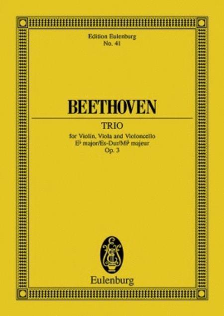 String Trio Eb major op. 3