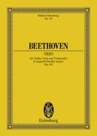 String Trio D major op. 9/2