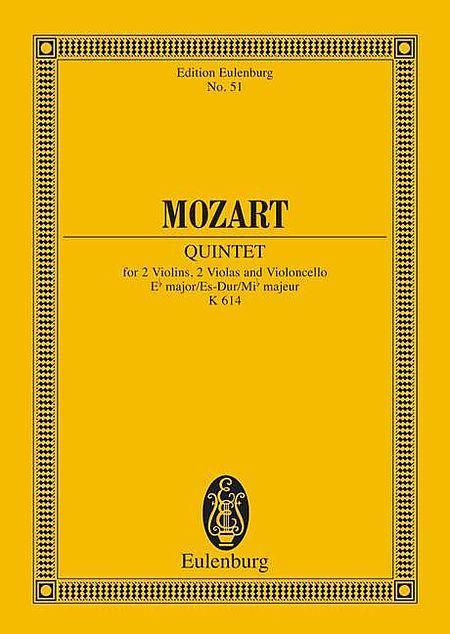 String Quintet in E-flat Major, K.614