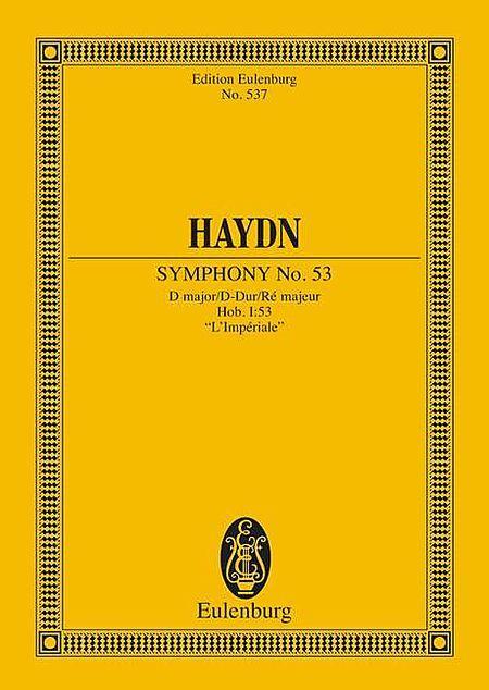 Symphony No. 53 D major Hob. I: 53