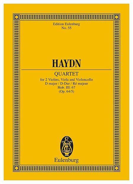 String Quartet in D Major, Op. 64/5, Hob.III:67