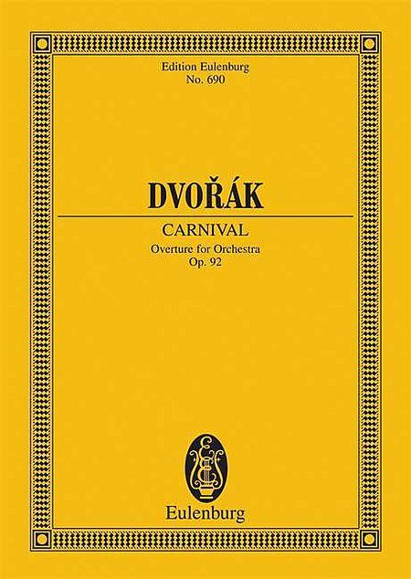 Carnival op. 92 B 169