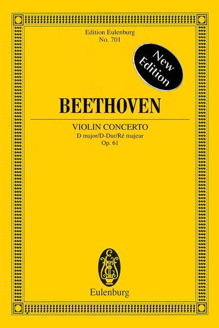 Violin Concerto D major op. 61