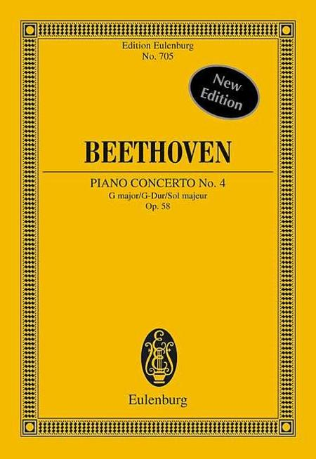 Concerto No. 4 G Major Op. 58