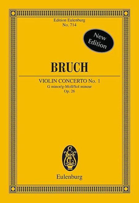 Violin Concerto No. 1 G Minor Op. 26