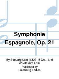 Symphony espagnole in D minor, Op. 21