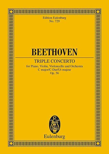 Triple Concerto C major op. 56