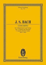 Concerto C major BWV 1064