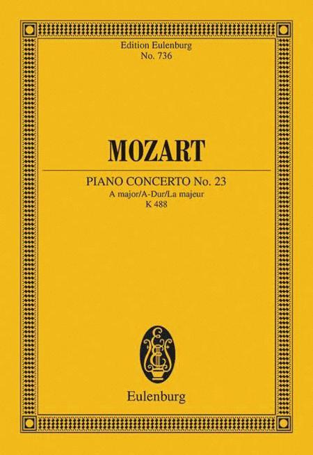 Concerto No. 23 A major KV 488