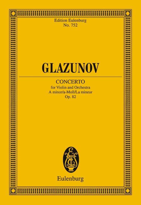 Concerto A minor op. 82
