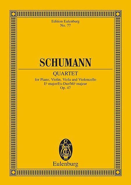 Piano Quartet Eb major op. 47
