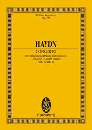 Concerto D major Hob. XVIII: 11