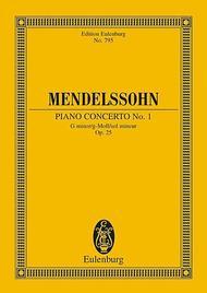Concerto No. 1 G minor op. 25