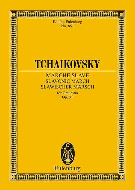 Slavonic March op. 31 CW 42