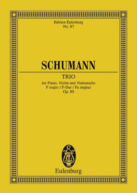 Piano Trio F major op. 80